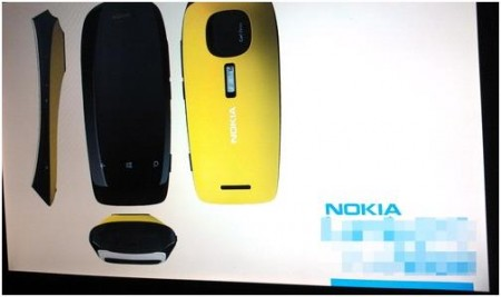 Leaked photos of a Nokia Pureview Windows Phone