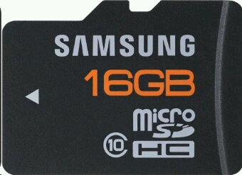 Samsung 16GB microSD going cheap, today only