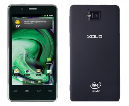 Intels first smartphone will be the Xolo X900. Available today in India