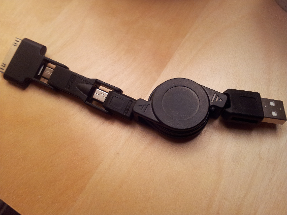 Review   OneCable Sync and Charge Cable