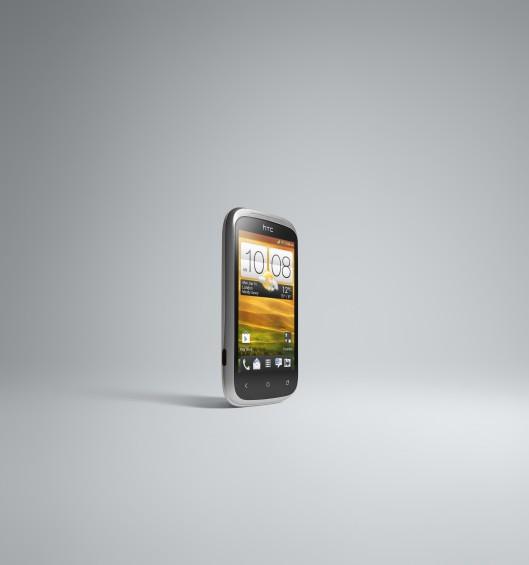 HTC Desire C FRONT RIGHT WHITE JPEG