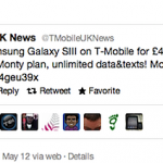 T-Mobile Confirm Galaxy SIII Pricing