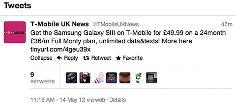 T Mobile Confirm Galaxy SIII Pricing