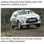 Keep up with the latest British Rally Championship action with these apps