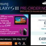 Carphone Warehouse – Samsung Galaxy SIII