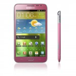 Carphone Warehouse to get Pink Galaxy Note