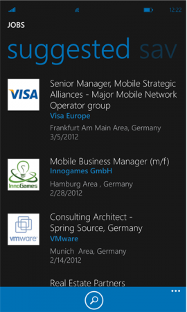 LinkedIn now available for Windows Phone