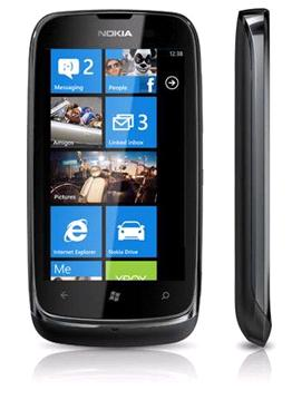 Nokia Lumia 610 in Black now in stock at various retailers.