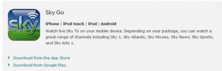 Sky Go not coming to Windows Phone any time soon