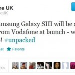 Vodafone get an exclusive on the 32GB Samsung Galaxy SIII