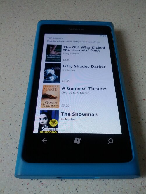 Nokia Reading now available for Windows Phone