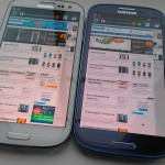 Picture Special – Samsung Galaxy SIII – Pebble blue vs white