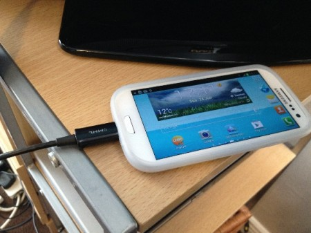 Samsung Galaxy S3 MHL HDTV Adapter Review