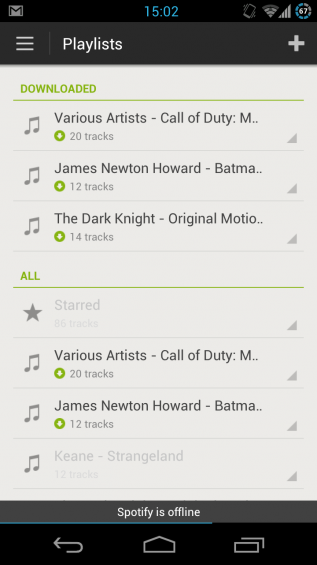 Updated Spotify For Android Out Of Beta   Now On Google Play