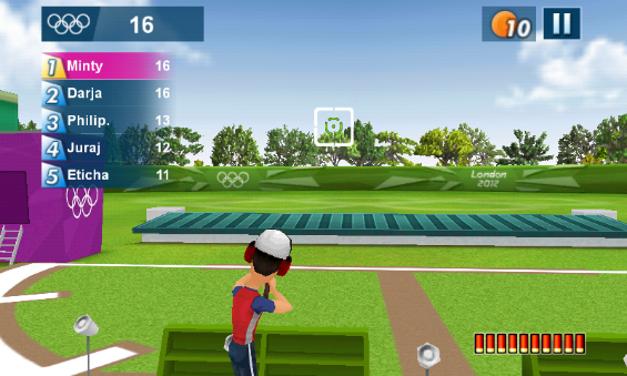 London 2012   Android and iPhone Game Review