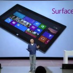 So, that Microsoft Surface presentation. Anyone spot the problem?