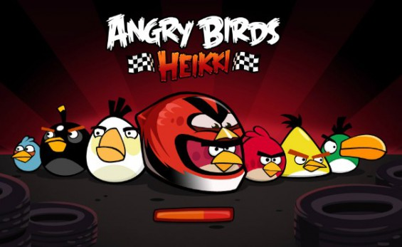 Play Angry Birds against Heikki Kovalainen for free!