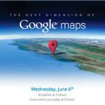 "Google to announce ""the next dimension of Maps"" on Wednesday"