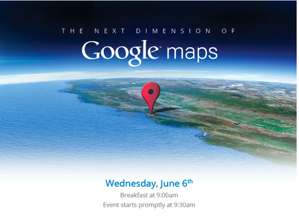 Google to announce the next dimension of Maps on Wednesday
