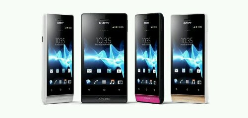 Sony Xperia Miro Announced