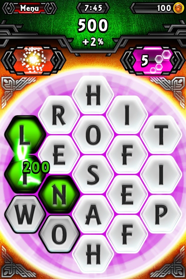 Word Hex   Addictive iOS Game