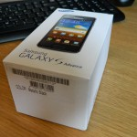 Samsung Galaxy S Advance: Unboxing (Gallery)