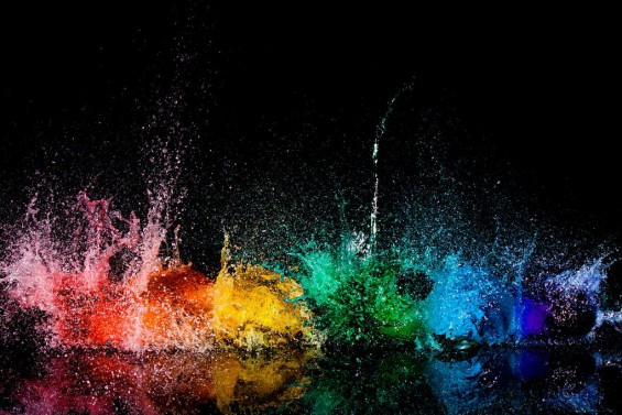 Galaxy S3 paint explosion