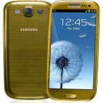 Gold Galaxy S3