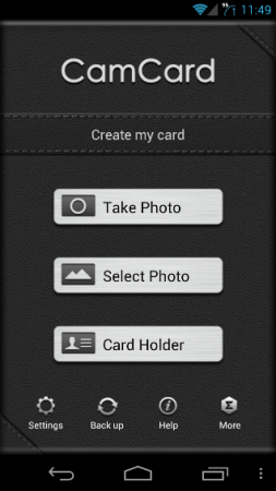 App Review: CamCard for Android
