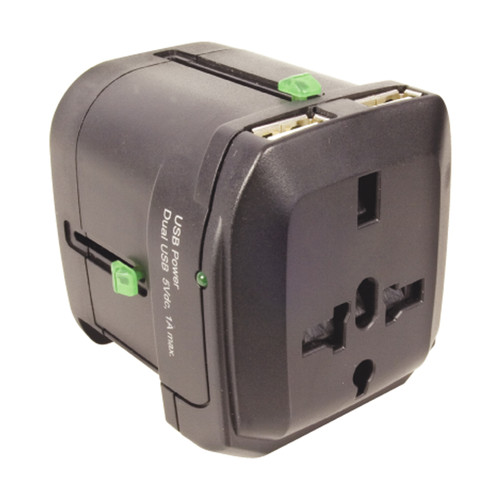 Weekend deals   Travel Adapter and USB combo