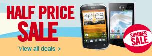 Carphone Warehouse Half Price