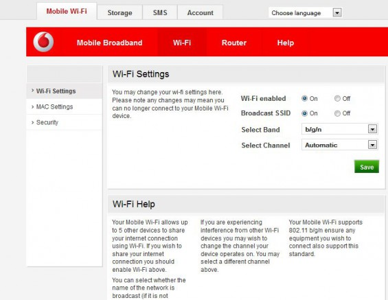 Vodafone Mobile Wi Fi R205 Review