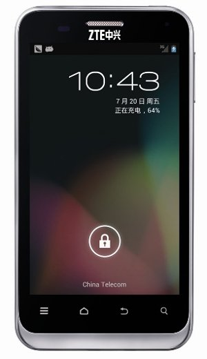 ZTE N880E gets upgraded to Jelly Bean in China