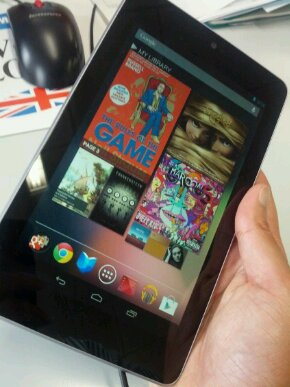 Nexus 7 and iPad get dropped in the name of science