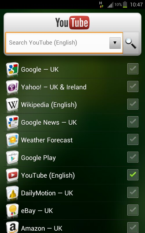 Coolsmartphone Recommended Android App   Quick Search Widget