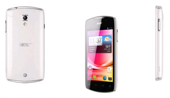 Acer Liquid Glow, budget Ice Cream Sandwich phone now available