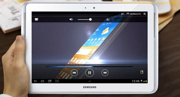 Samsung posts demo video of the Note 10.1