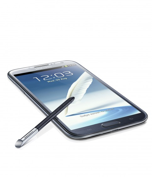 GALAXY Note II Product Image Gray  4