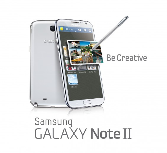 GALAXY Note II Product Image Key Visual 1