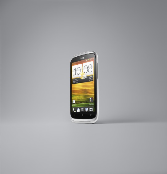 HTC Desire X White 3 4 Left Front