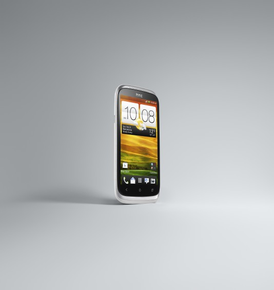 HTC Desire X White 3 4 Right Front