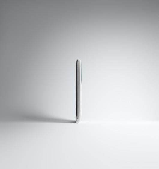 HTC Desire X White Side
