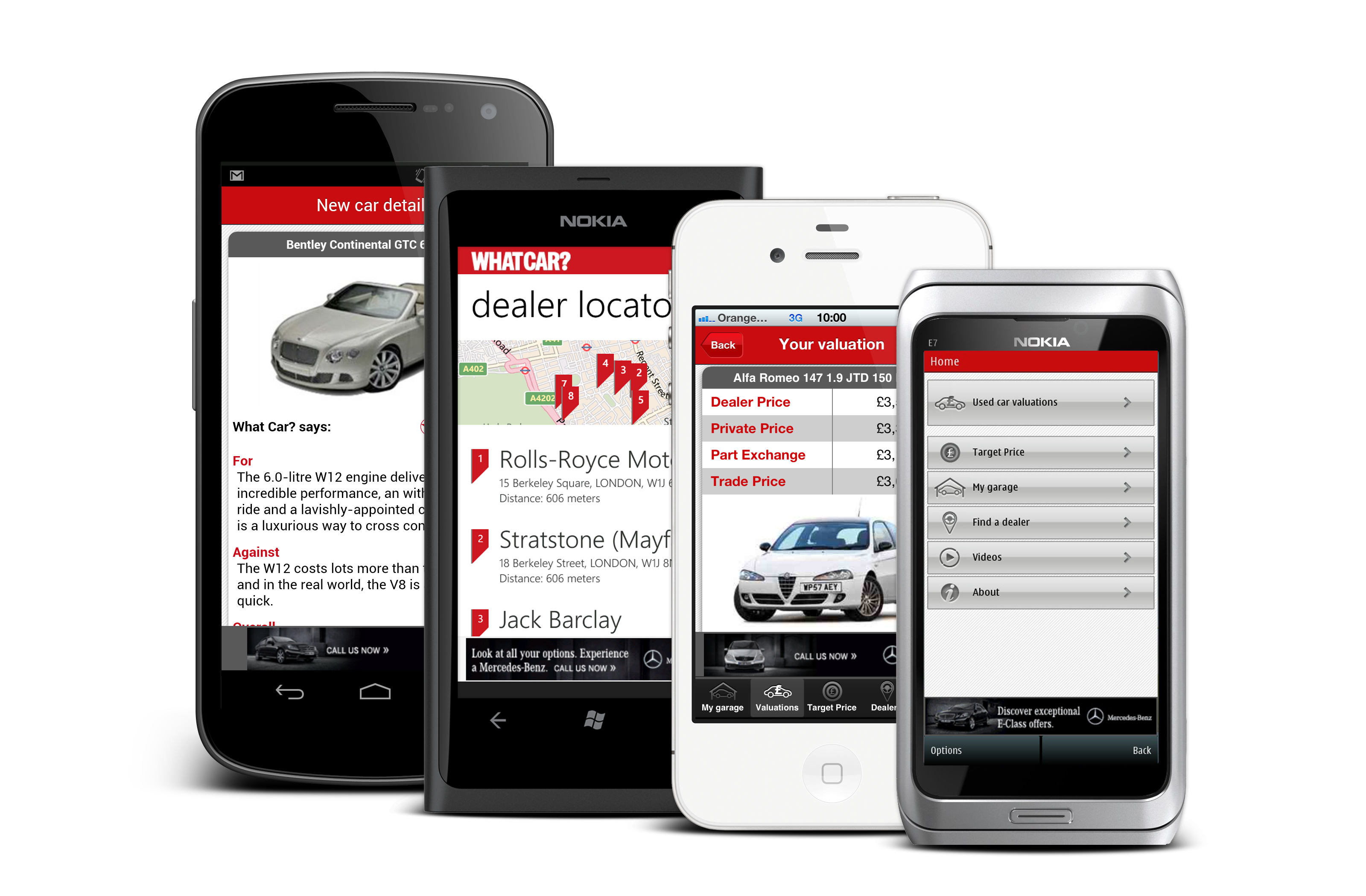 What car magazine have launched a valuation app for ios android