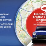 New Hands Free Traffic App with Data Supplied By The Highways Agency