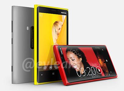 Nokia Lumia 920 & 820 images leaked
