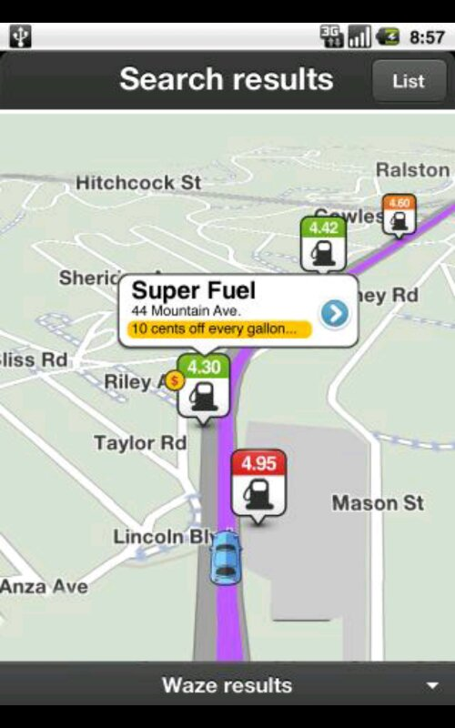 Waze releases real time crowd sourced fuel prices