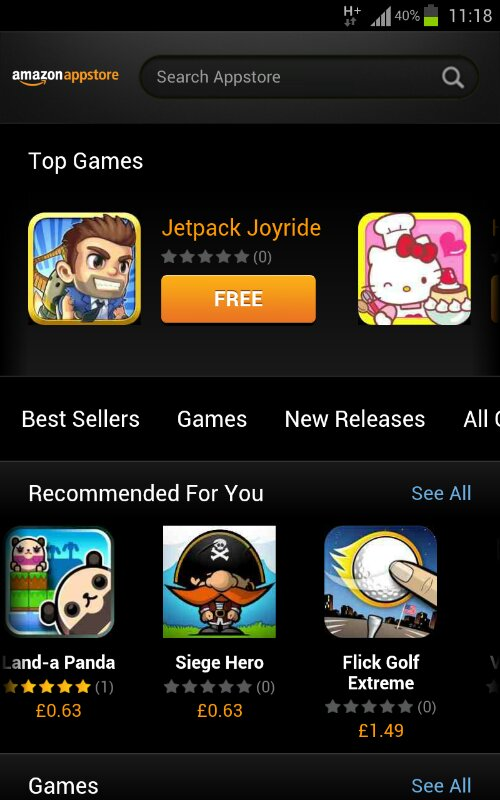 Amazon Appstore launches in Europe