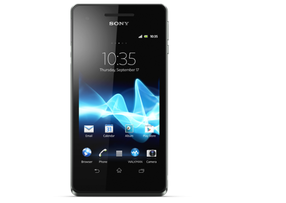 xperia v black android smartphone 620x440