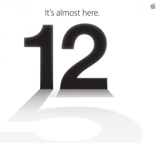 Apple Event confirmed for September the 12th