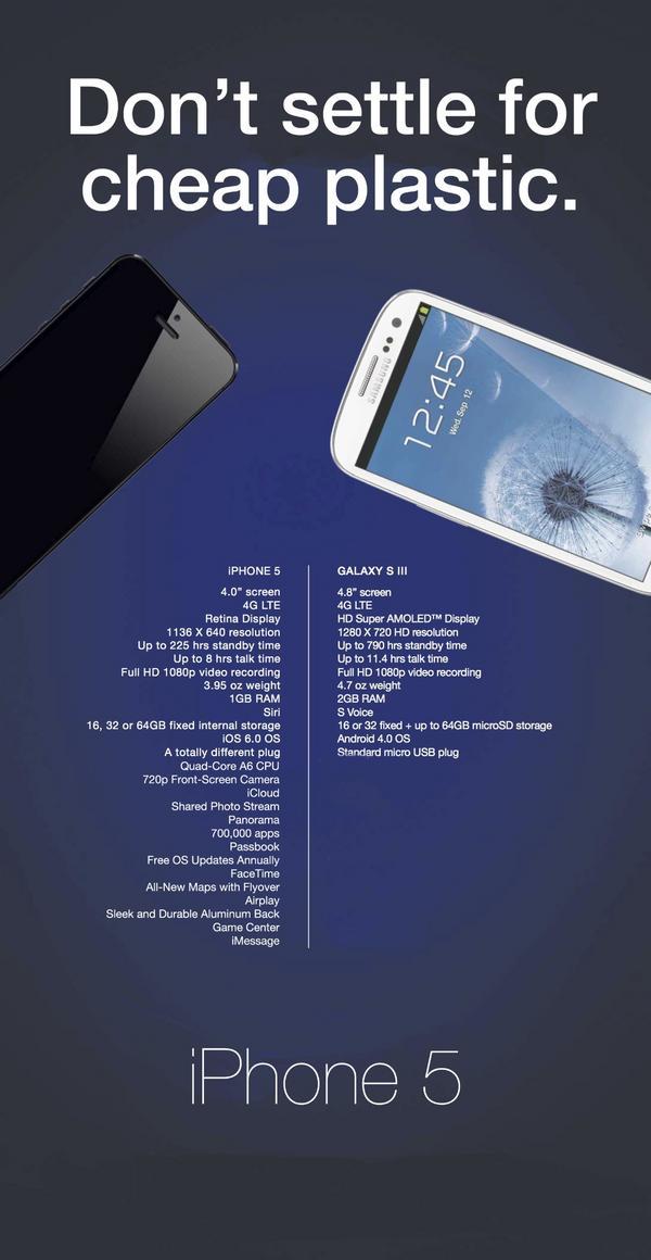 Samsungs latest ad takes aim at Apple...Again.